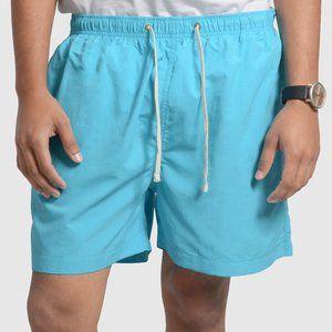 OLGYN Men's Acqua Blue Swim Shorts